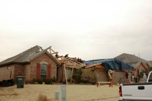 Pictures of the Edmond Tornado of Feb 2009