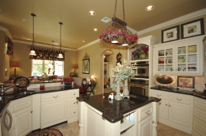 Beautiful granite island kitchen
