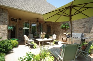 Fantastic Covered patio