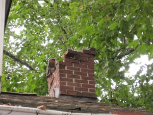 Edmond Oklahoma Chimney Damage