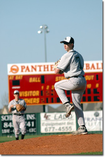 Edmond Santa Fe Baseball pitcher, Tyler Hukill