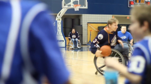 Oklahoma Blaze Wheelchair Basketball Team