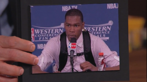 @KDTrey5 – KD Reps OKC on Jimmy Kimmel Live