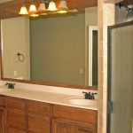 master bathroom in yukon