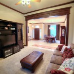 Open floor plan in Edmond