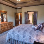 Master suite leading into bath/spa