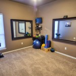 3rd bedroom or workout space