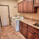 Large utility room with sink