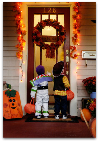 Halloween trick-or-treating schedule in Edmond